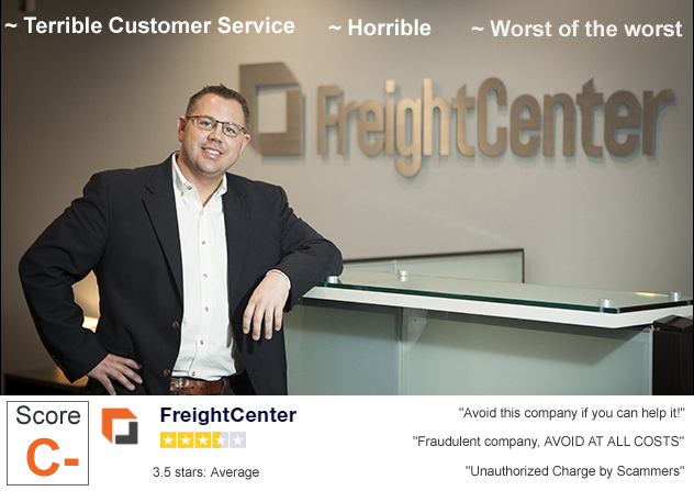 Freightcenter Reviews