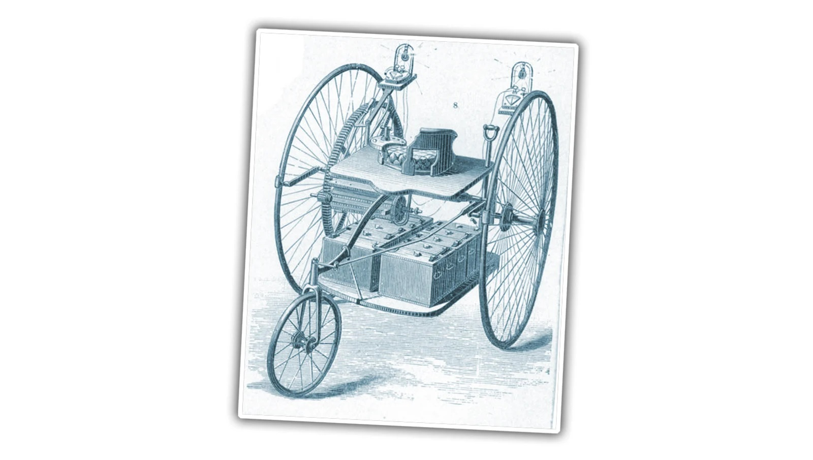 1832 Robert Anderson's Electric Car